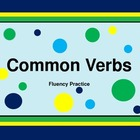Common Verbs - Fluency Practice PowerPoint
