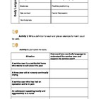 Communication Worksheets and activities