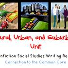 Communities: Rural, Urban & Suburban Expository Informatio