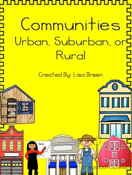 Communities: Urban, Suburban, and Rural