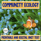 Community Ecology Unit Test