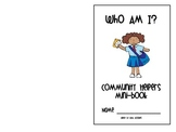 Community Helper Booklet