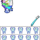 Community Helper Dentist Subtraction Practice Page