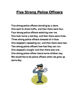 Community Helper Poem