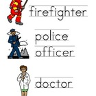 Community Helper Vocabulary Cards