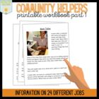 Community Helper Workbook Part 1