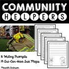 Community Helpers 'Are Can Have' Tree Maps