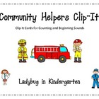 Community Helpers Clip-It Centers