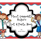 Community Helpers Cut & Paste Book