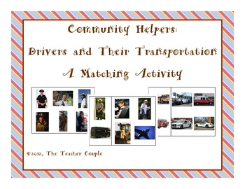 Community Helpers: Driver and Transportation Matching Activity