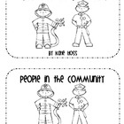 Community Helpers Emergent Reader Book