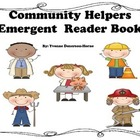 Community Helpers Emergent  Reader Book P-1st Grade