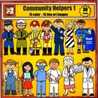 Community Helpers, Jobs. and Careers Clipart