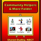 Community Helpers & More Writing Folder