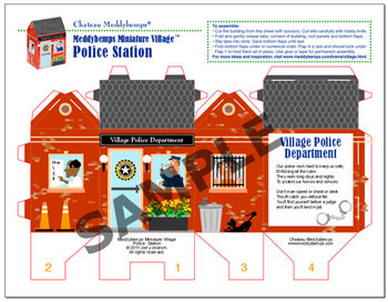 Community Helpers Police Station