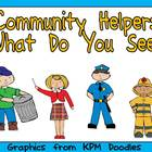 Community Helpers What Do You See Kindergarten Shared Read