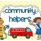 Community Helpers {a mini unit}