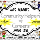 Community Helpers and Careers Mega Unit