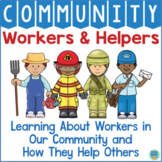 Community Helpers Match Up - Jobs & Vehicles