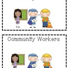 Community Workers emergent reader.
