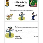 Community Workers mini book