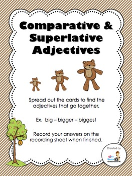 Comparative-Superlative Adjectives Center