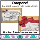 Compare!  A Number Identification Game