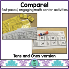 Compare!  tens and ones practice for math centers