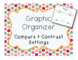 Compare and Contrast Setting Graphic Organizer - Critical
