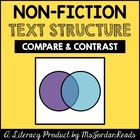 Compare &amp; Contrast -- Text Structure Packet