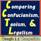 Comparing Confucianism, Taoism, & Legalism! Common Core Pr