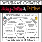 Comparing Fairy Tales and Fables - Venn Diagram