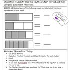 Comparing Fractions Lesson Plan