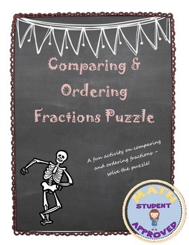 Comparing Fractions; Ordering fractions least to greatest