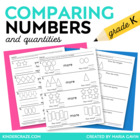 Comparing Numbers - More, Less, Same As, Greater, Fewer, Equal