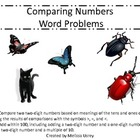 Comparing Numbers Using Word Problems