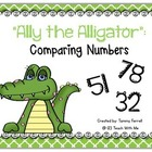 Comparing Numbers with Ally the Alligator