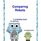 Comparing Robots Printable Book