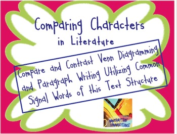 Comparing and Contrasting Characters in Literature: Exposi