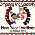 Comparing and Contrasting Western and Chinese New Year Traditions
