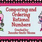 Comparing and Ordering Rational Numbers Show Off