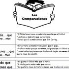 Comparisons in Spanish  - Graphic Organizer