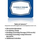 Complete Adult ESL Lesson (Jobs & Careers)