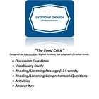 Complete Adult ESL Lesson (The Food Critic)