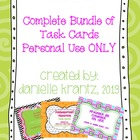Complete Bundle of Task Cards - Personal Use
