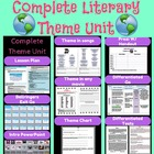 Complete Literary Theme Unit with prezi
