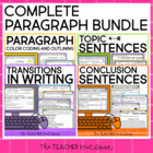 Complete Paragraph Writing Bundle: Common Core