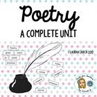 Complete Poetry Unit Grades 4-8