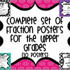 Complete Set of Fraction Posters for the Upper Grades *Ali