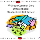 7th Grade Math Common Core Review for Standardized Test